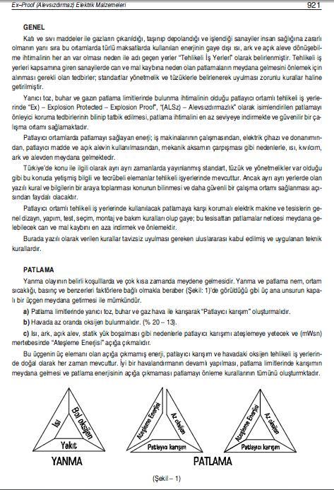 EX-PROOF ( ALEVSIZDIRMAZ) ELEKTRİK MALZEMELERİ